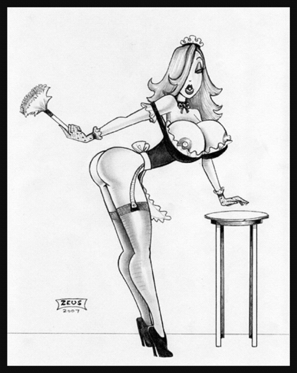 dress up jessica rabbit nude - ... Jessica Rabbit Maid Hentai ...