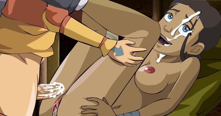 Horny sokka and aang fuck sexy katara together