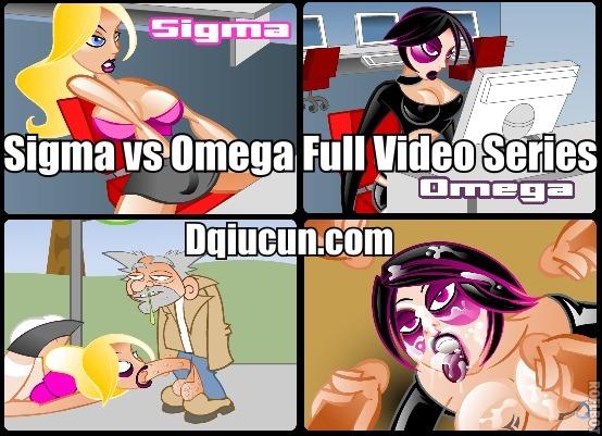 Alpha und Omega Cartoon-Pornos