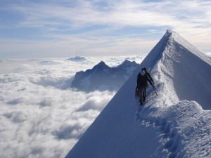 What is the highest mountain in the world?