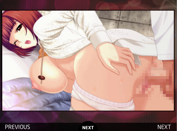 Hentai Puzzle 7 Short Red Head Chick Large Breasts Fucked Doggy Stlye Cartoon Gif Game